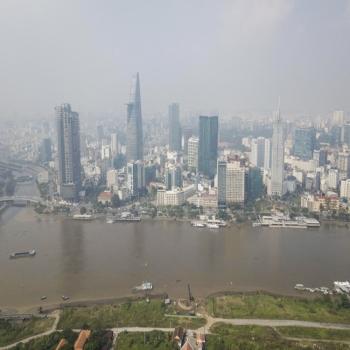 Không khí ô nhiễm, mù bao trùm Sài Gòn nhiều ngày